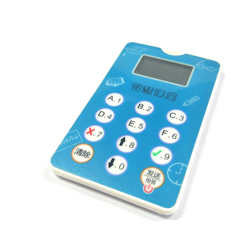 2.4GHz Active Tag Vote Clicker for Classroom Response System